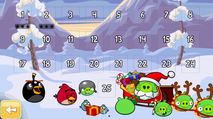 Angrybirds Seasons アップデート