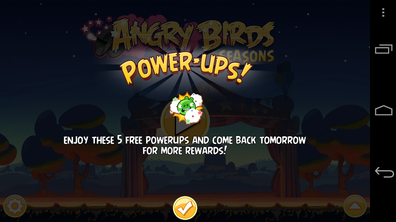 Angrybirds seasons 攻略