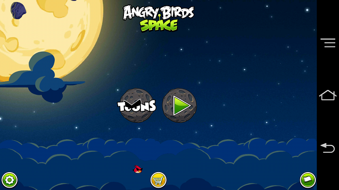 AngryBirds space 攻略