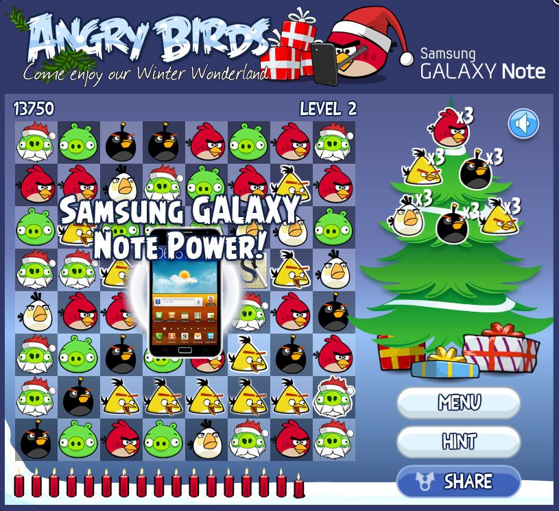 angrybirds GalaxyNote 攻略